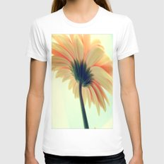 Flower in the spring Womens Fitted Tee White SMALL