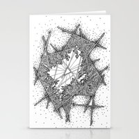 fractal Stationery Cards featuring Fractal by Abstract Al