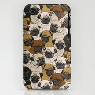 Social Pugz iPhone (3g, 3gs) Slim Case