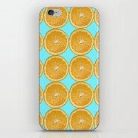 Oranges Fruit Citrus Photo Art iPhone & iPod Skin