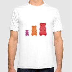 Gummy Bears Mens Fitted Tee SMALL White