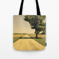 Lonely Road Tote Bag