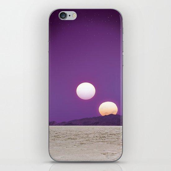 Binary Sunset iPhone & iPod Skin