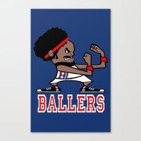 Ballers Canvas Print