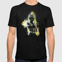 The Prince of all fighters Mens Fitted Tee Tri-Black SMALL
