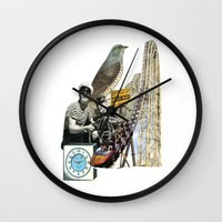 Navigate The Roller Coaster Ride Of Life Wall Clock