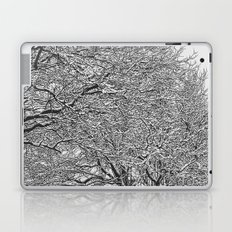 Snowy Trees Laptop & iPad Skin