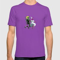 Dance, Chauncey, Dance -… Mens Fitted Tee Ultraviolet SMALL
