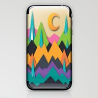 The Glass Mountains iPhone & iPod Skin