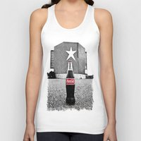 Drive-in Cola Unisex Tank Top
