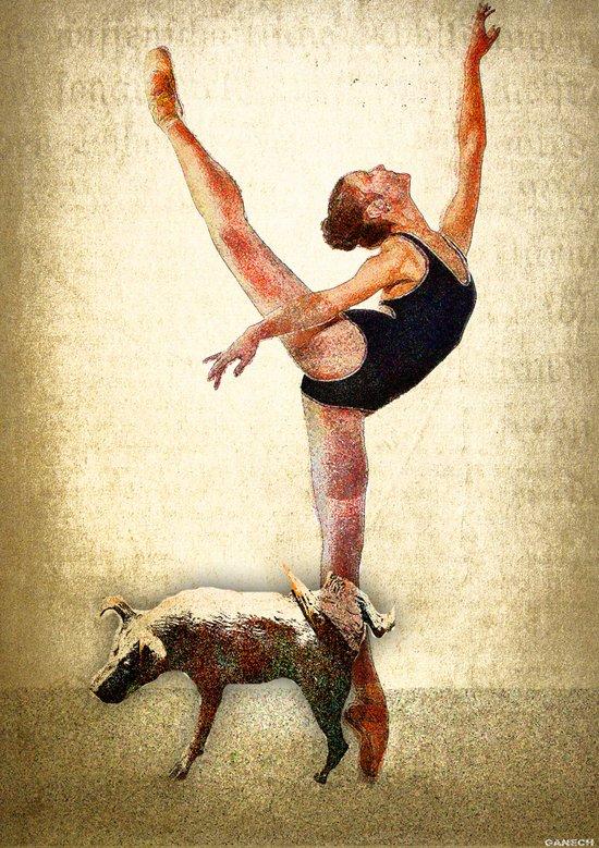 Ballet 2 Art Print