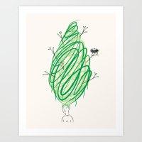 Let It Grow No.2  Art Print