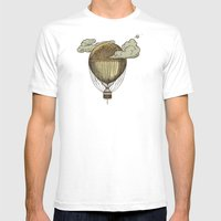 Around The World The Inc… Mens Fitted Tee White SMALL