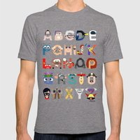 P Is For Pixar (Pixar Al… Mens Fitted Tee Tri-Grey SMALL