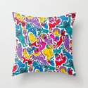 It Bares Repeating Throw Pillow
