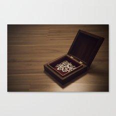 heart in a box Canvas Print
