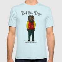 Bad Hair Day No:5 / Thri… Mens Fitted Tee Light Blue SMALL