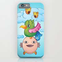 iPhone & iPod Case featuring I can fly by plearn