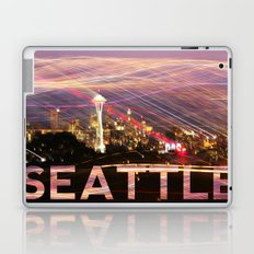 Seattle long exposure  Laptop & iPad Skin