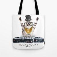 Thug Cat Tote Bag