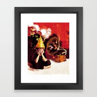 Silent Treatment Framed Art Print