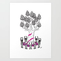 Tree Friends, Pt.3 Art Print