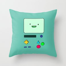 Beemo  Throw Pillow