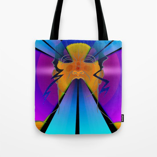 LAZER FACE Tote Bag