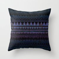 Menka {C} Throw Pillow