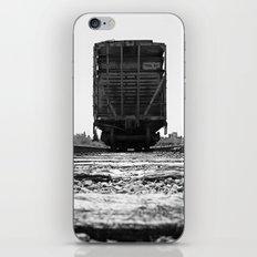 Train car waits iPhone & iPod Skin