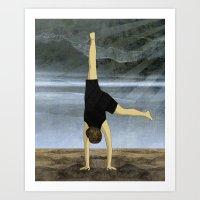 Cartwheel Art Print