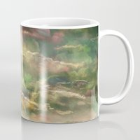 Head in the Clouds by Debbie Porter - Designs of an Eclectique Heart Mug