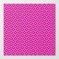 Pink Trefoil Canvas Print