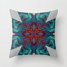 Mandala VI Throw Pillow