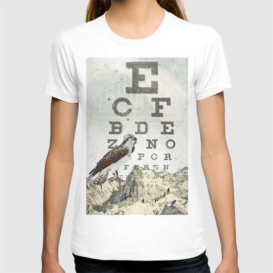 eye chart II T-shirt
