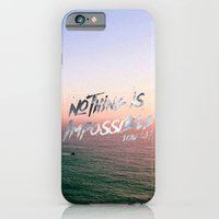 Nothing Is Impossible iPhone 6 Slim Case