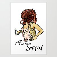Anise Joplin Art Print