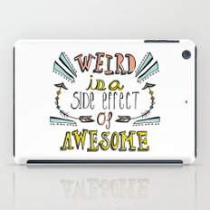 Weird & Awesome iPad Case
