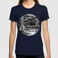 Emotions Womens Fitted Tee Navy SMALL