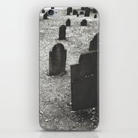 Tombstones iPhone & iPod Skin