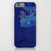 iPhone & iPod Case featuring Hot Air Balloon Ride  by Nate Twombly