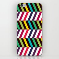 Colorful Zigzag iPhone & iPod Skin