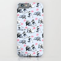iPhone & iPod Case featuring Badgers by Jen Moules