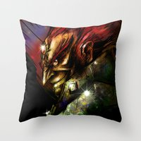 Ganondorf Throw Pillow