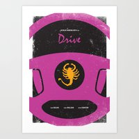 Drive Film Poster Art Print