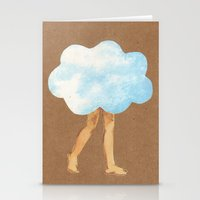 Cloud Girl Stationery Cards