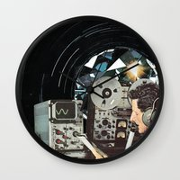 Distorted Thoughts Wall Clock