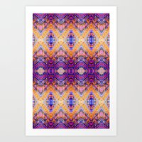 Marrakech Yellow Art Print
