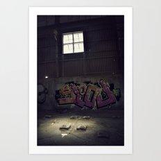 Abandoned Warehouse Art Print