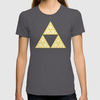 Triforce Womens Fitted Tee Asphalt SMALL